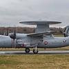 165455. Northrop Grumman E-2C Hawkeye. French Navy. Prestwick. 030418.