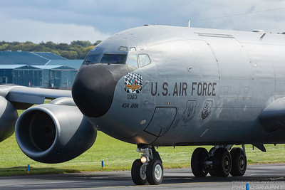 60-0363. Boeing KC-135R Stratotanker. USAF. Prestwick. 060918.