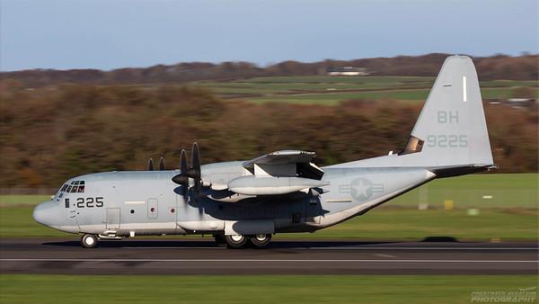169225. Lockheed Martin KC-130J Hercules. US Marines. Prestwick. 271018.