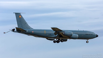 574  31-CP. Boeing C-135FR Stratotanker. French Air Force. Prestwick. 140318.