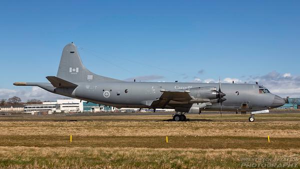 140103. Lockheed CP-140 Aurora. Canadian Air Force. Prestwick. 050418.