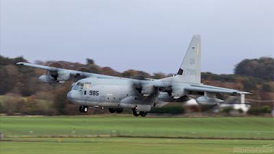 167985. Lockheed Martin KC-130J Hercules. US Marines. Prestwick. 251018.