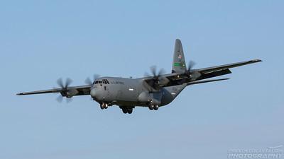 07-46311. Lockheed Martin C-130J Hercules. USAF. Prestwick. 100518.