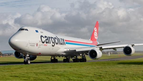 LX-VCD. Boeing 747-8R7F/SCD. Cargolux. Prestwick. 071019.