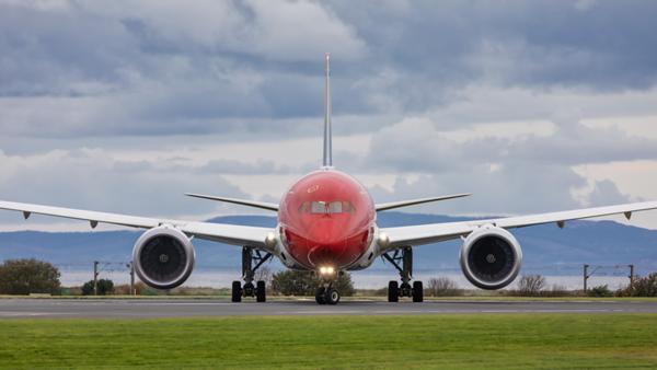 LN-LNU. Boeing 787-9 Dreamliner. Norwegian. Prestwick. 251019.
