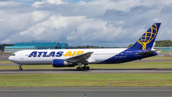 N640GT. Boeing 767-3S1(ER). Atlas Air. Prestwick. 300619.