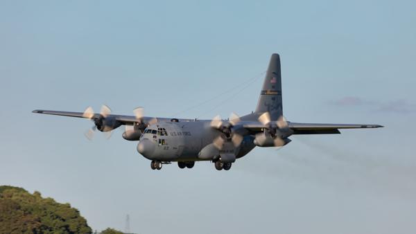 74-1661. Lockheed C-130H Hercules.  USAF. Prestwick. 270619.