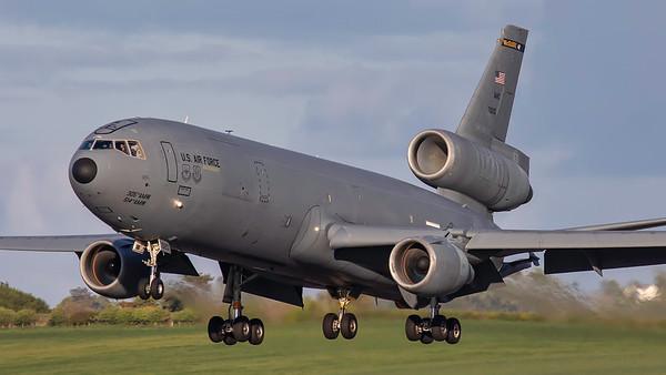 87-0120. McDonnell Douglas KC-10A Extender. USAF. Prestwick. 050519.