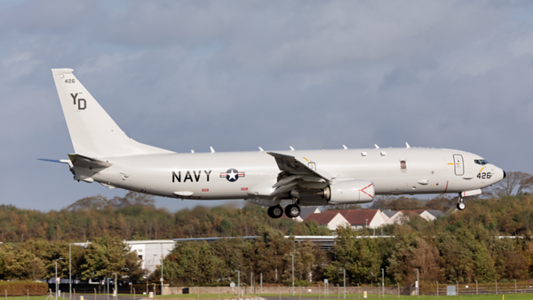 169426. Boeing P-8A Poseidon. US Navy. Prestwick. 071019.