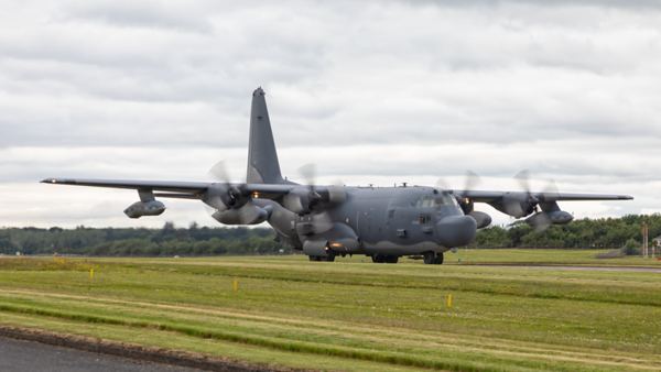 89-0282. Lockheed MC-130H Talon. USAF. Prestwick. 130619.