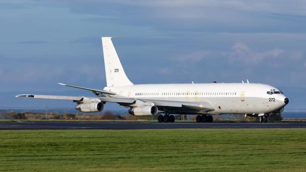 272. Boeing 707-3L6C(KC) Re'em. Israeli Air Force. Prestwick. 041119.