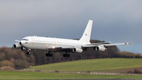 272. Boeing 707-3L6C(KC) Re'em Israeli Air Force. Prestwick. 031119.