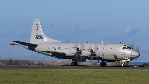 163298. Lockheed P-3C Orion. Royal Norwegian Air Force. Prestwick. 100419.