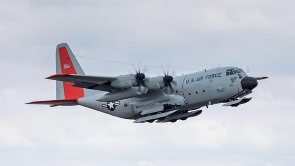 76-3301. Lockheed LC-130R Hercules. USAF. Prestwick. 250619.