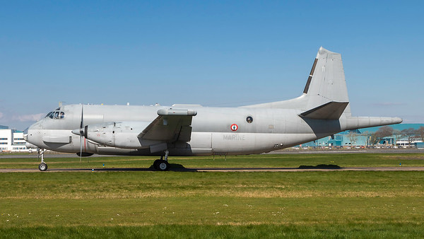 11. Dassault-Breguet Br.1150 Atlantique. French Navy. Prestwick. 090419.