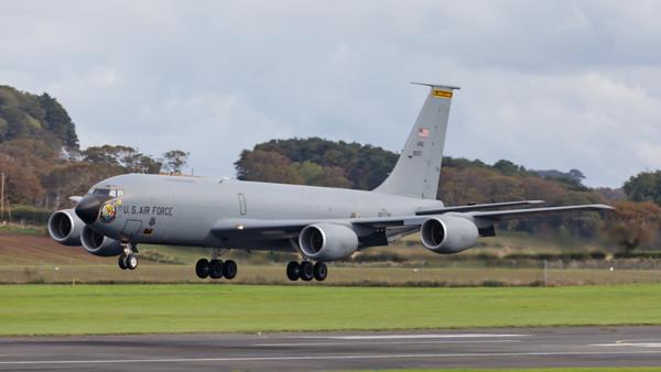 58-0117. Boeing KC-135T Stratotanker. USAF. Prestwick. 300919.