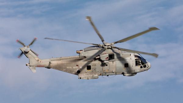 ZH847. Agusta-Westland Merlin HM.1. Royal Navy. Prestwick. 071019.