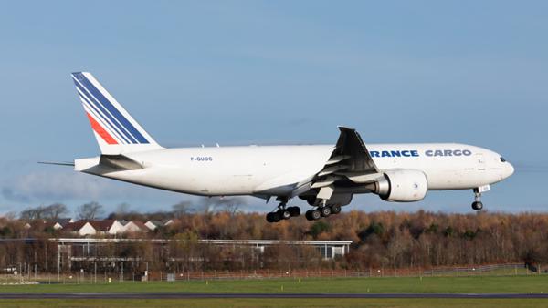 F-GUOC. Boeing 777-F28. Air France Cargo. Prestwick. 131119.