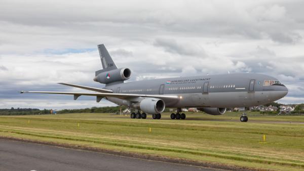 T-264. McDonnell Douglas KDC-10-30CF. Dutch Air Force. Prestwick. 130619.