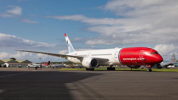 LN-LNO. Boeing 787-9 Dreamliner. Norwegian. Prestwick. 130819.