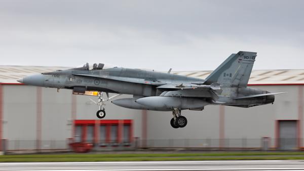 188766. McDonnell Douglas CF-188A Hornet Canadian Air Force. Prestwick. 251019.