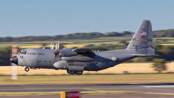 74-1679. Lockheed C-130H Hercules. USAF. Prestwick. 270619.