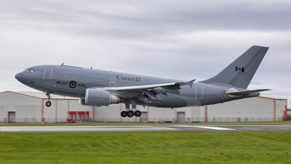 15005. Airbus CC-150T Polaris. Canadian Air Force. Prestwick. 251019.