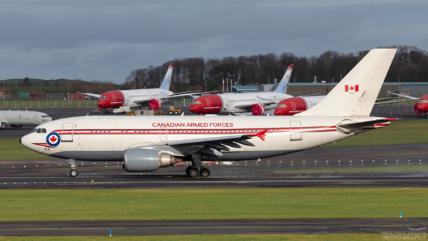15003. Airbus CC-150 Polaris. Canadian Air Force. Prestwick. 121120.