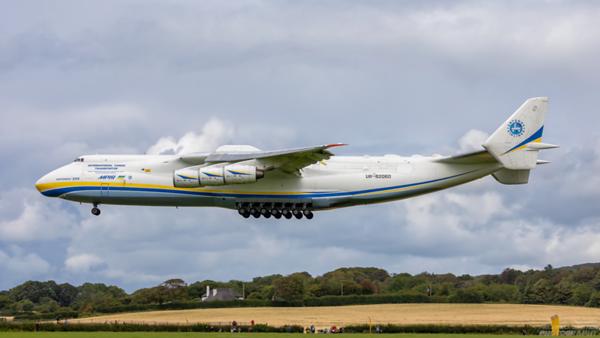 UR-82060. Antonov An-225 Mriya. Antonov Design Bureau. Prestwick. 020820.