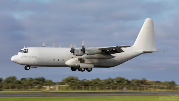 N409LC. Lockheed L-382G-44K Hercules. Lynden Air Cargo. Prestwick. 140820.