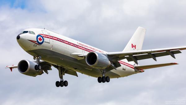 15003. Airbus CC-150 Polaris. Canadian Air Force. Prestwick. 100720.