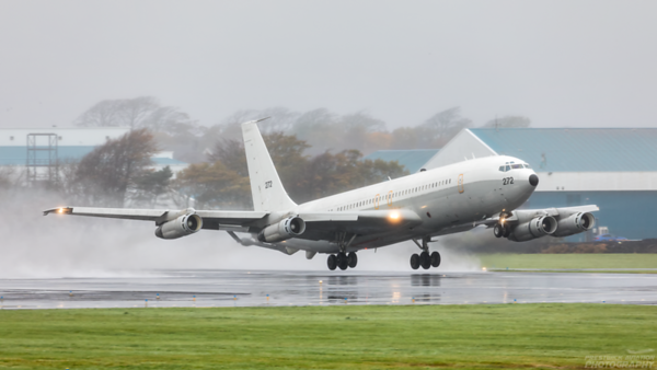 272. Boeing 707-3L6C(KC) Re'em. Israeli Air Force. Prestwick. 211020.