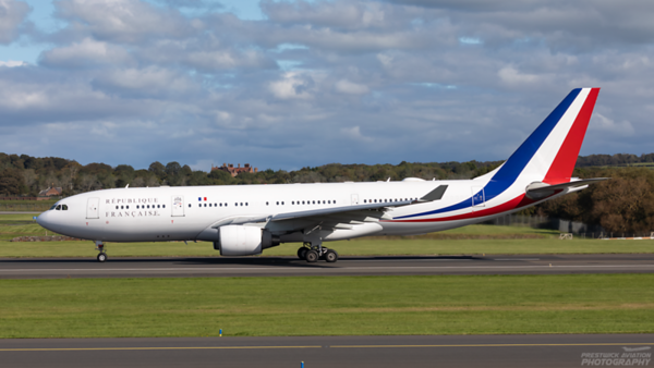 F-RARF. Airbus A330-223. French Air Force. Prestwick. 250920.