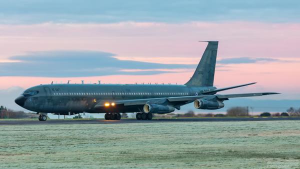 290. Boeing 707-3W6C(KC) Re'em. Israeli Air Force. Prestwick. 071220.
