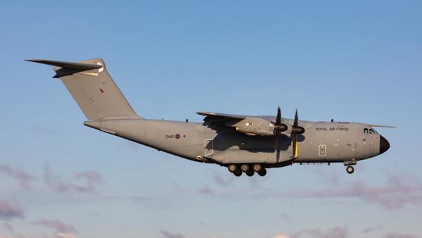 ZM415. Airbus A400M Atlas C1. RAF. Prestwick. 090120.