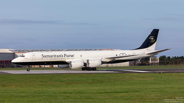 N782SP. Douglas DC-8-72CF.  Samaritan's Purse. Prestwick. 260821.