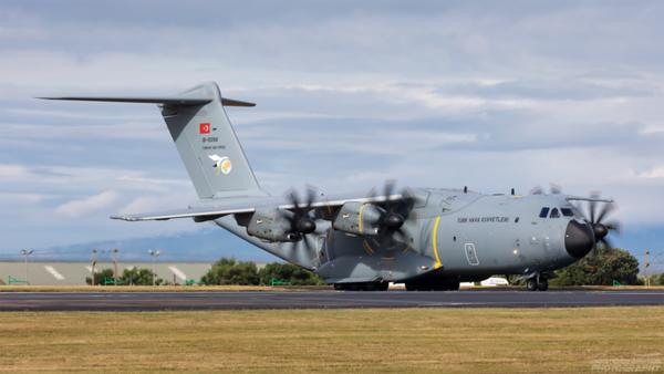 18-0094. Airbus A400M . Turkish Air Force. Prestwick. 060821.