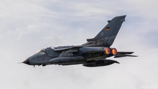 46+24. Panavia Tornado ECR. German Air Force. Prestwick. 120821.