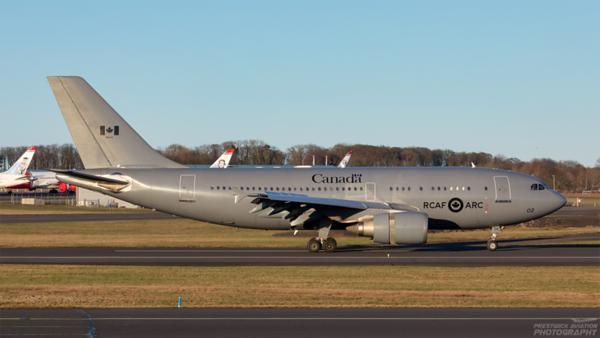 15002. Airbus CC-150 Polaris. Canadian Air Force. Prestwick. 110221.