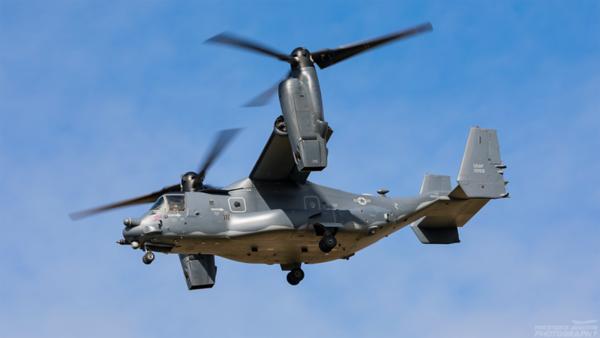 11-0059. Bell-Boeing CV-22B Osprey. USAF. Prestwick. 100821.