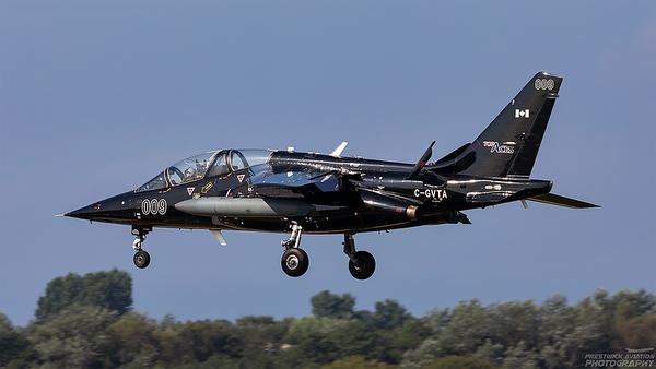 C-GVTA.  Dassault-Breguet-Dornier Alpha Jet. Top Aces. Prestwick. 240821.
