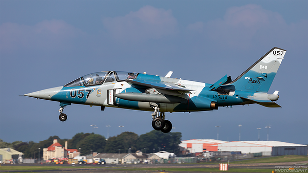 C-GJTA. Dassault-Breguet-Dornier Alpha Jet A. Top Aces. Prestwick. 240821.