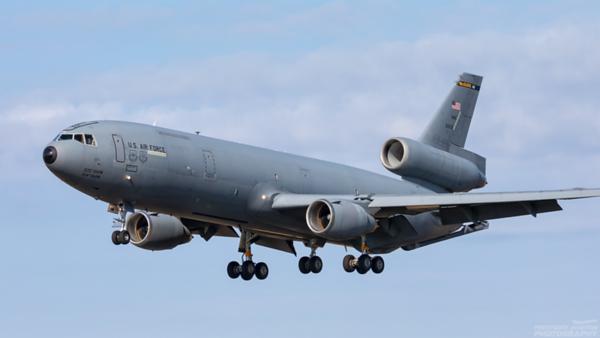 85-0031. McDonnell Douglas KC-10A Extender. USAF. Prestwick. 040821.