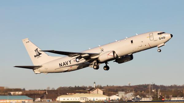 169548. Boeing P-8A Poseidon. US Navy. Prestwick. 120121.