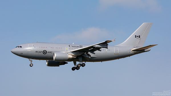 15005. Airbus CC-150T Polaris. Canadian Air Force. Prestwick. 270821.