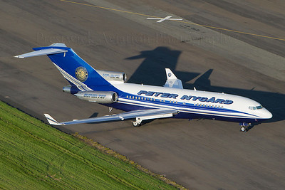 VP-BPZ. Boeing 727-17(RE) Super 27. Private Prestwick. 260712.