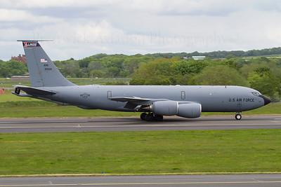 59-1522. Boeing KC-135R Stratotanker. USAF. Prestwick. 040612.