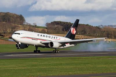 C-FGAJ. Boeing 767-223(BDSF). Cargojet. 180312.