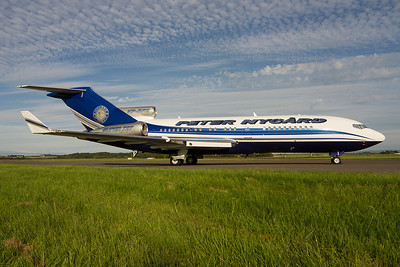 VP-BPZ. Boeing 727-17(RE). Private. Prestwick. 260712.