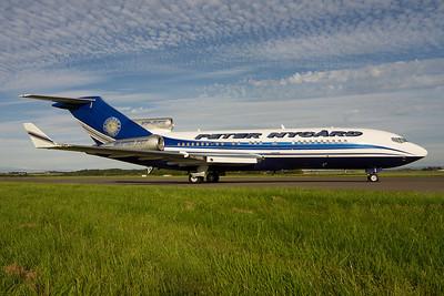 VP-BPZ. Boeing 727-17(RE). Private. Prestwick. 260712.